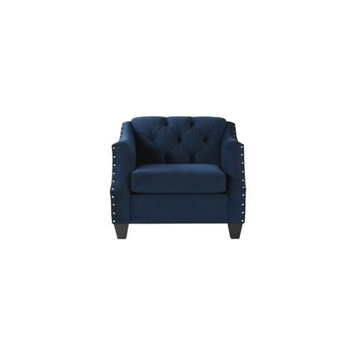 HUGHES FURNITURE 16150SC Bing Indigo Tufted Chair