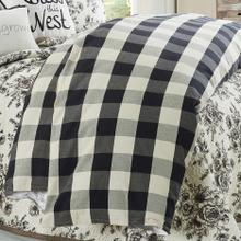 3 PC Camille Duvet Set, Black - Super King