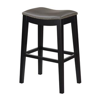 "Briar 30"" Bar Stool Gray"