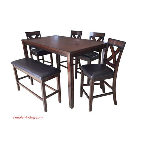 Liberty Furniture Industries - 6 Piece Gathering Table Set