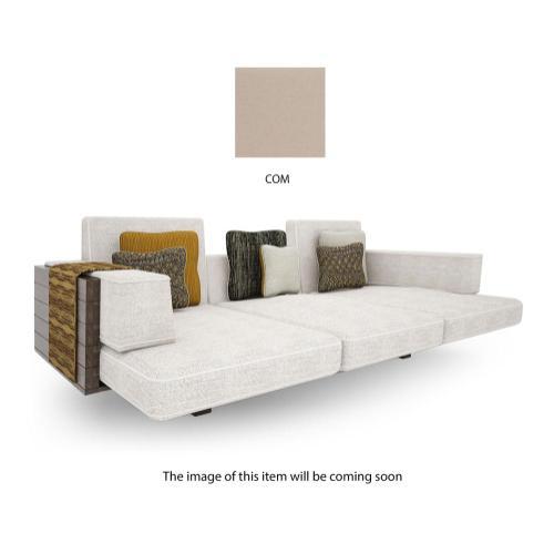 Sofa upholstered in COM