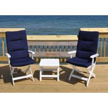 Caribic 3-pc Set W/cushions