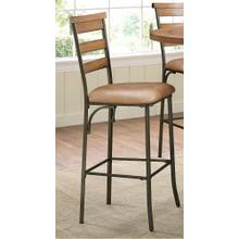 See Details - Avery Wood Plank Barstool