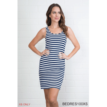 Striped Body Esteem Dress - XS (3 pc. ppk.)