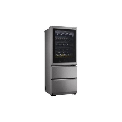 LG SIGNATURE 15 cu. ft. Smart wi-fi Enabled InstaView™ Wine Cellar Refrigerator