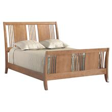 See Details - American Expressions Queen Spindle Sleigh Bed