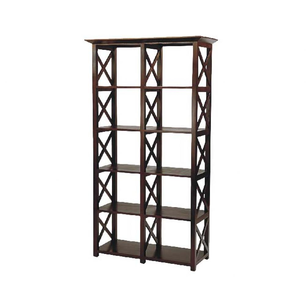 See Details - Finn Double Bookcase
