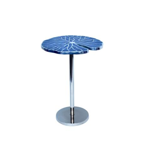 Product Image - Blue Springs Metal Inlay Blue Accent Table