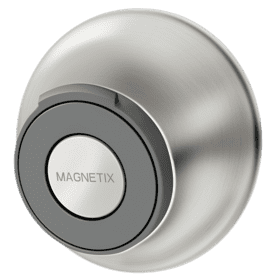 Magnetix Brushed nickel magnetic dock