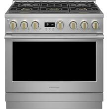"Monogram 36"" Dual-Fuel Professional Range with 6 Burners (Natural Gas) - Coming Spring 2021"