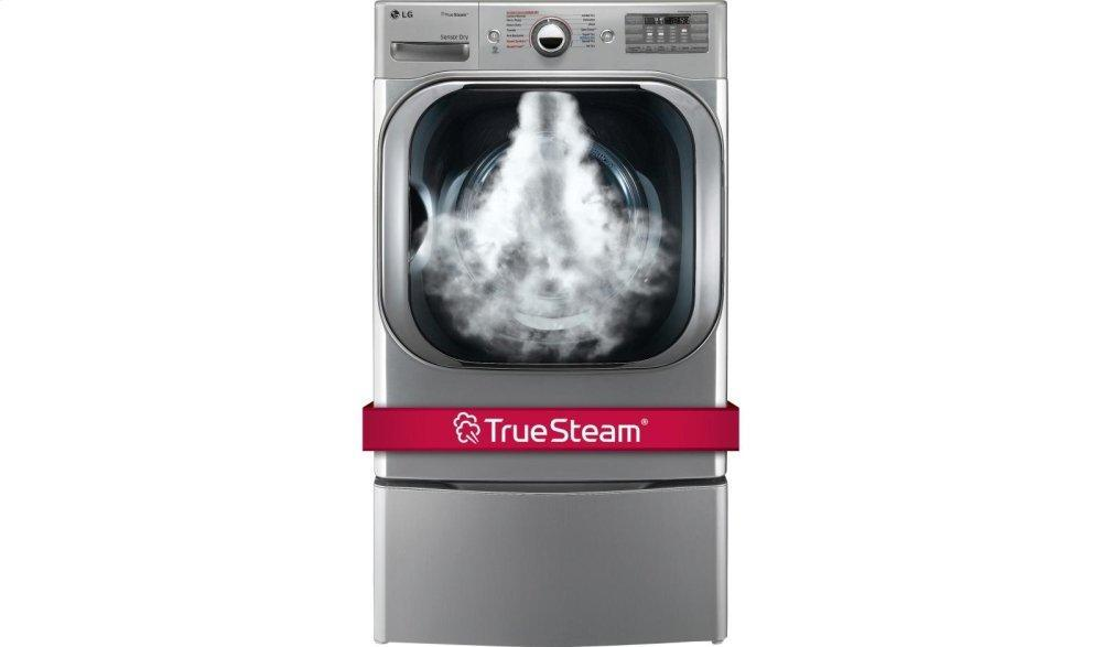 LG Appliances9.0 Cu. Ft. Mega Capacity Electric Dryer W/ Steam™ Technology