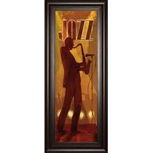 """Hot Jazz"" By Conrad Knutsen Framed Print Wall Art"