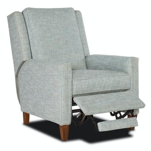 Sam Moore Furniture - Living Room Dekker Recliner Solid Back - Pwr without Art Headrest