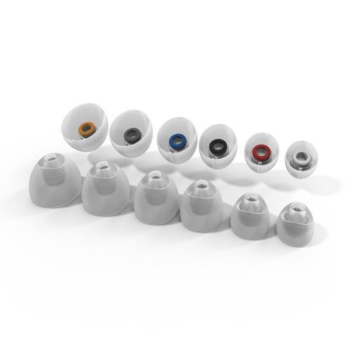 Klipsch - Oval Ear Tips - T5 II True Wireless Earphones - Black
