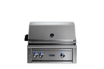 """30"""" Lynx Professional Built In Grill with 2 Ceramic Burners and Rotisserie, LP"""