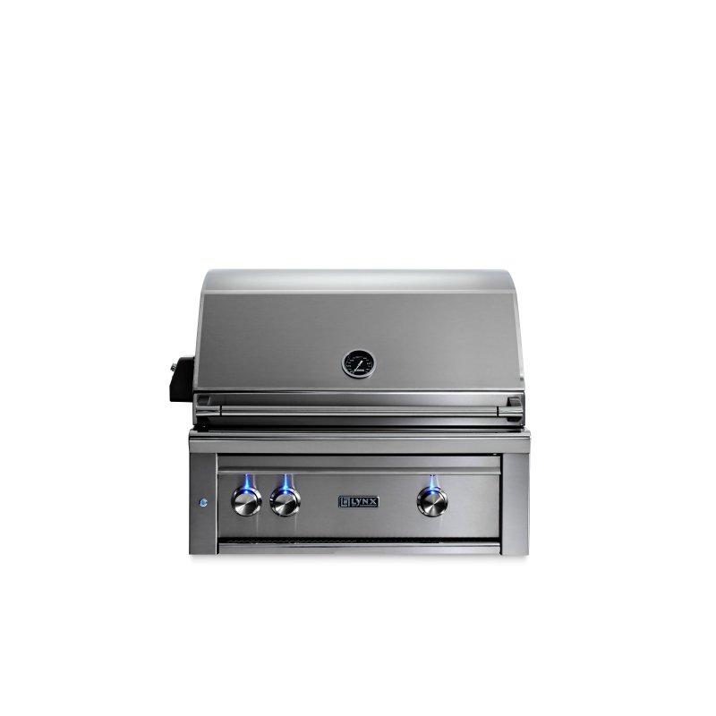 """30"""" Lynx Professional All Trident™ Built In Grill Rotisserie, LP"""