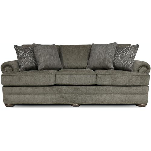 6M05N Knox Sofa with Nails