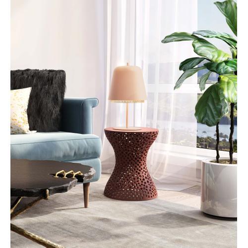 Kuli Blush Table Lamp