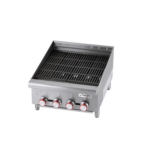 24-Inch Gas Charbroiler