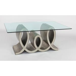 """Artmax - Dinning Table Base Only, for 6 54x21x30"""""""