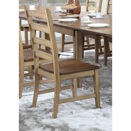 Ladder Back Dining Side Chair (Set of 2)
