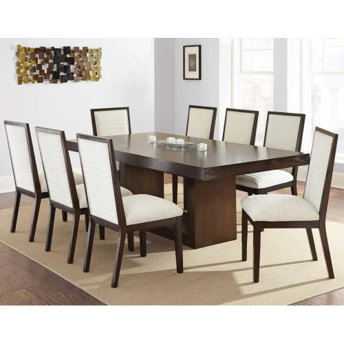 Antonio 70-88 inch Dining Table with 18 inch Leaf