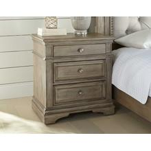 Highland Park Nightstand, Waxed Driftwood