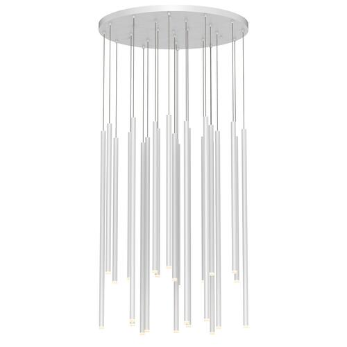 Sonneman - A Way of Light - Light Chimes LED Pendant [Size=24-Light Assorted, Color/Finish=Satin White]