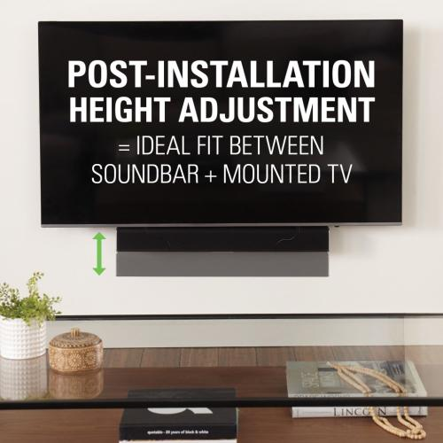 Universal Soundbar Mount - Depth Adjustable