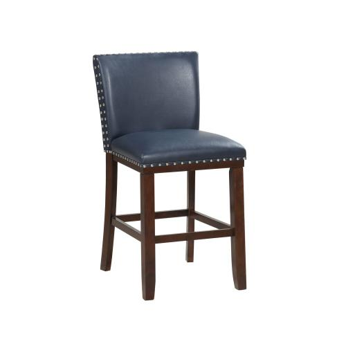 Tiffany KD Counter Chair, Navy