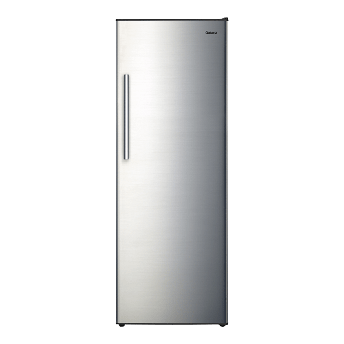 Galanz 11.0 Cu.Ft Convertible Upright Freezer in Stainless Steel