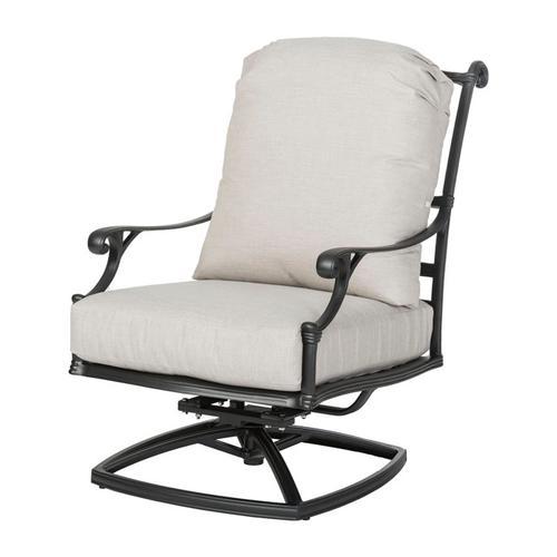 Gensun Casual Living - Michigan Cushion High Back Swivel Rocking Lounge Chair