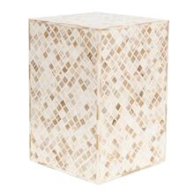 See Details - Tabla Rectangle Inlay Stool