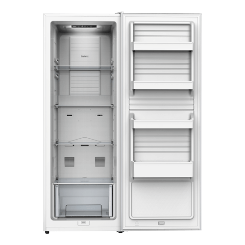 Galanz 11.0 Cu.Ft Convertible Upright Freezer in White