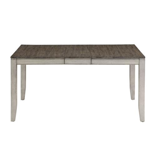 """Abacus 48-60 inch Dining Table w/12"""" Butterfly Leaf"""
