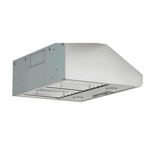 "30"" 585 CFM Motor Class Commercial-Style Under-Cabinet Range Hood System - Stainless Steel"