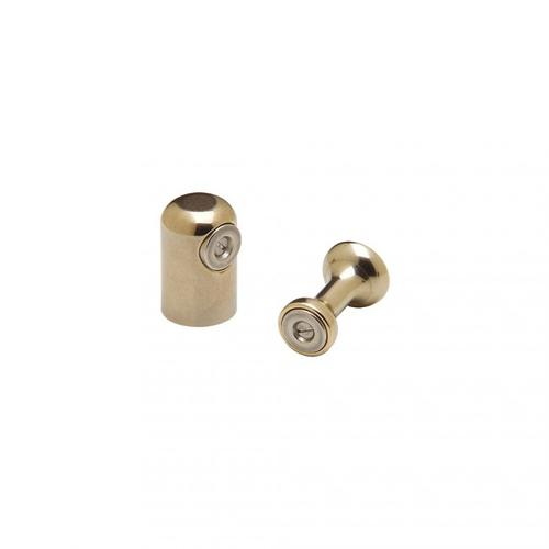 Magnetic Cabinet Latch - CL200 White Bronze Medium