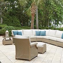 Hamptons Armless Sectional