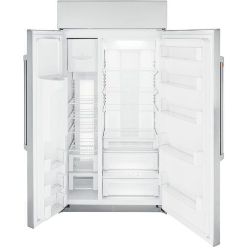 """Cafe - Café™ 42"""" Smart Built-In Side-by-Side Refrigerator with Dispenser"""