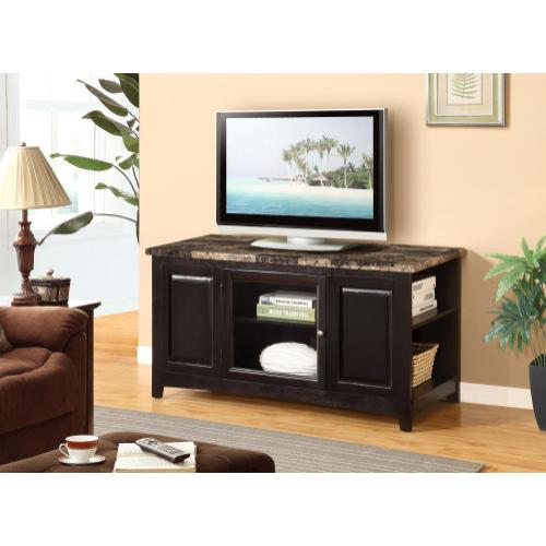 Gallery - CHERRY ARTIFICIAL MARBLE TOP TV STAND