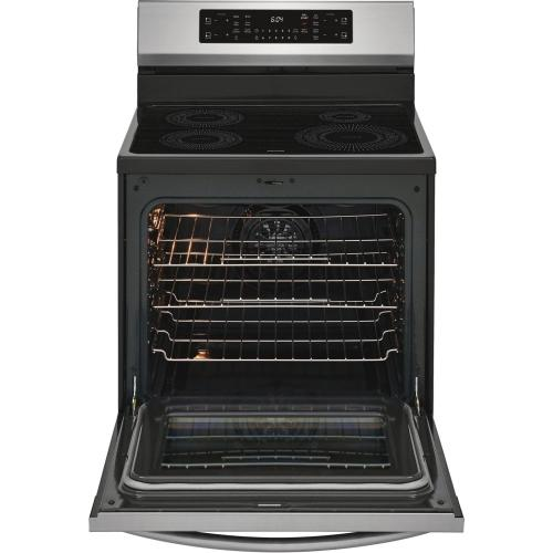 30'' Freestanding Induction Range with Air Fry