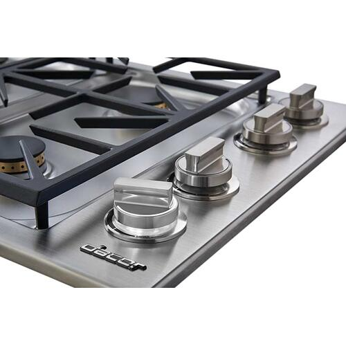 "30"" Dual Gas Cooktop, Liquid Propane"