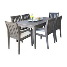 Poolside 7 PC Dining Set