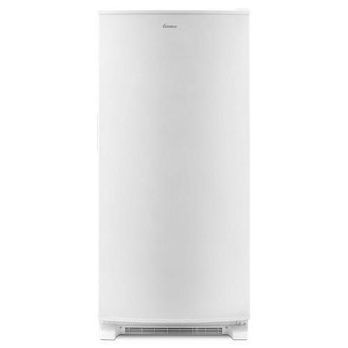 Amana - White Amana® 18 cu. ft. Upright Freezer with ENERGY STAR® Rating