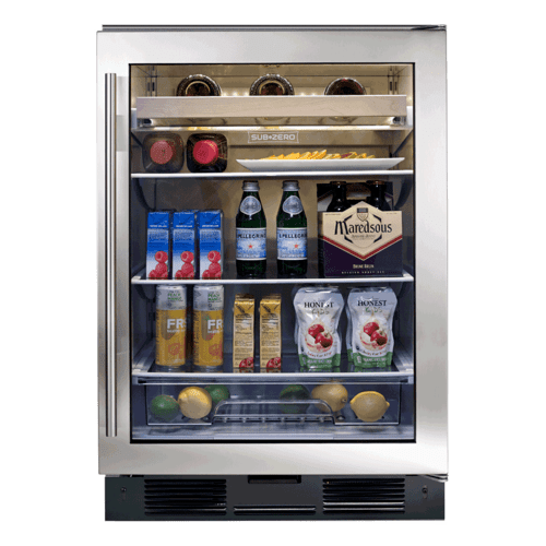 Sub-Zero - UC-24BG Beverage Center - Classic Stainless