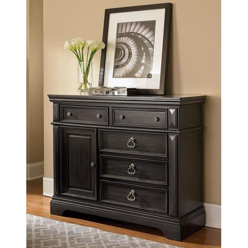 Garrison Storage Chest, Soft Grey