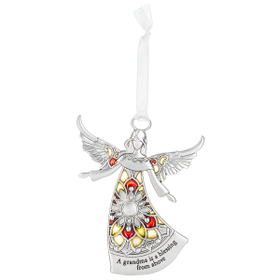 Angel Ornament - A grandma is a blessing from above