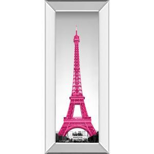 """Pretty In Paris"" By Emily Navas Mirror Framed Print Wall Art"