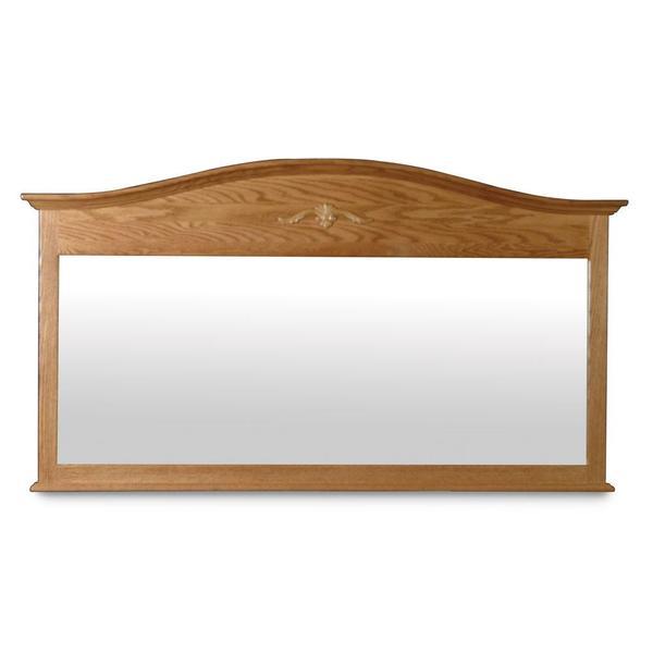 See Details - Arch Top Bureau Mirror, 62'w x 35 'h