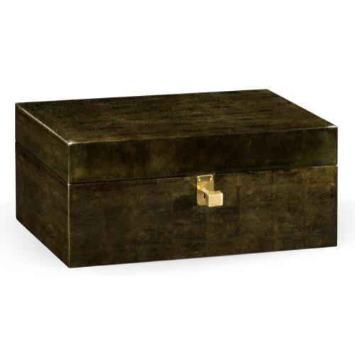 Jonathan Charles - Dark Bronze Rectangular Box